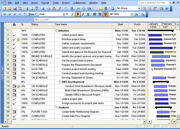 Get project plan template excel exceltemple for Project schedule template xls