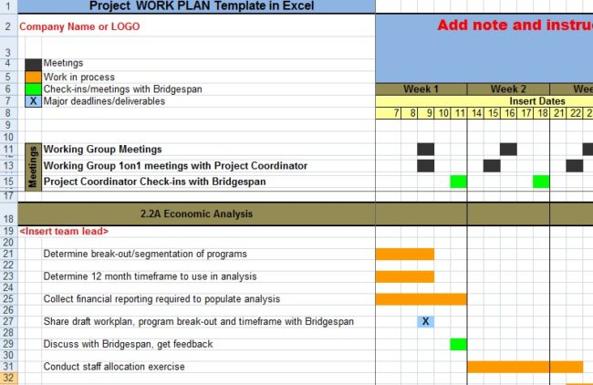 Three Free Project Plan Excel Templates  blogappsheetcom