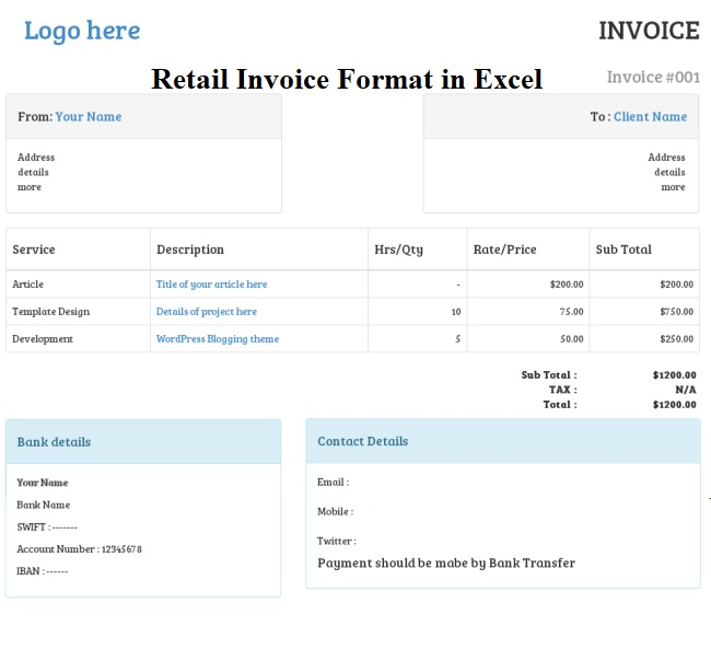 Invoice Template Free Word Free To Do List Inside Retail