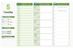 Staff Activity Time Log Template Excel